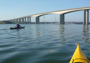 Heading for the Orwell Bridge