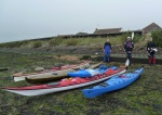 Sea Kayaks Ready to launch