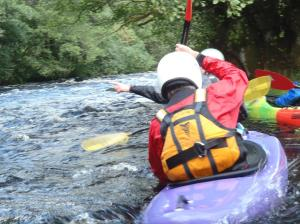 Tryweryn - Whitewater trip for BCC Sept 2012