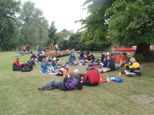 Cambridge Backs trip - Braintree Canoeing Club