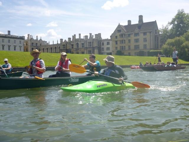 Braintree Canoeing Club - Cambridge Backs 2014